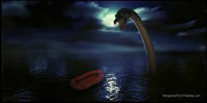 plesiosaur attack pensicola harbor