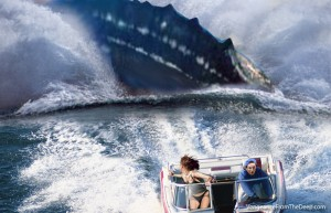 pliosaur-chasing-boat