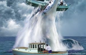 pliosaur-crushing-boat