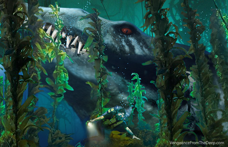 Pliosaur images vengeance from the deep pliosaur for Land big fish