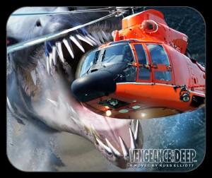pliosaur mouse pad helicopter