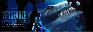 pliosaur poster 36x12 vengeance 2
