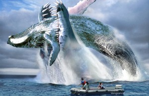 pliosaur-whale-attack
