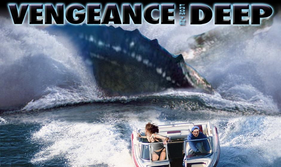 pliosaurus chasing boat